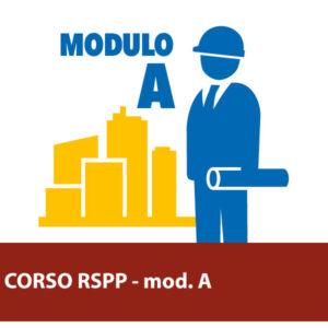 Corso di Formazione per RSPP modulo A