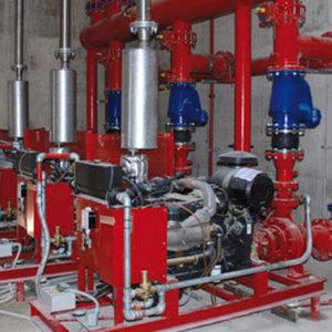 Manutenzione gruppi pompe UNI E12845/10779