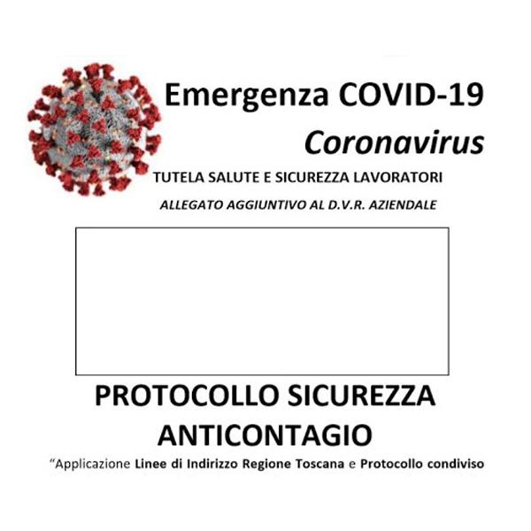 protocollo di sicurezza anti-contagio