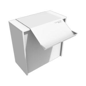 Scivolo da banco in alluminio