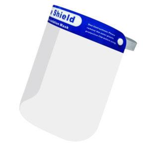 Visiera protettiva CovidStop Blu in policarbonato modello Light EN166:2001